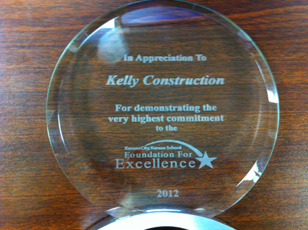 2012 KCK Schools Excellence Award